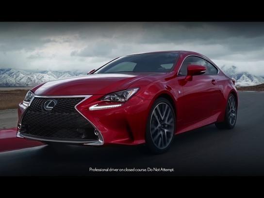 Lexus Film Ad - Performance