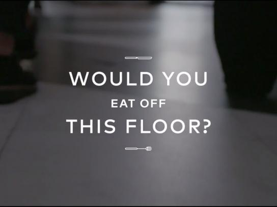 Black and Decker Experiential Ad - FLOOR99.9