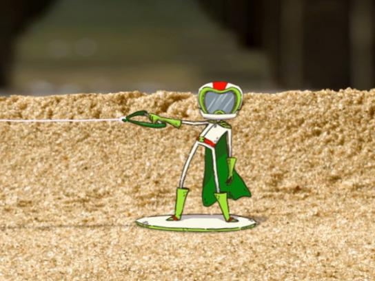 Mountain Dew Digital Ad -  Sand beetle