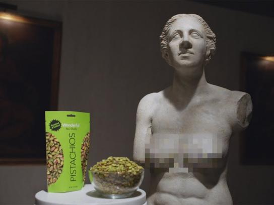 Wonderful Pistachios Film Ad - Venus de Milo On the Go