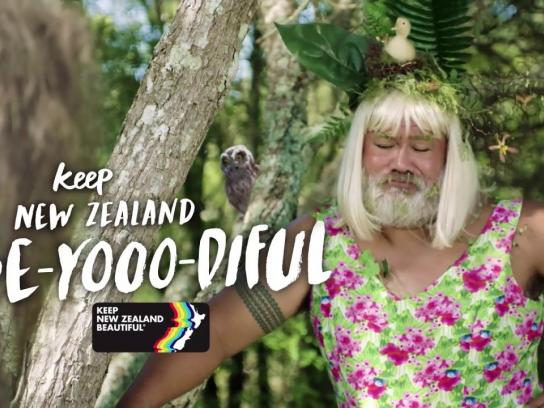 Keep New Zealand Beautiful Film Ad - Don't Upset Mama Nature!