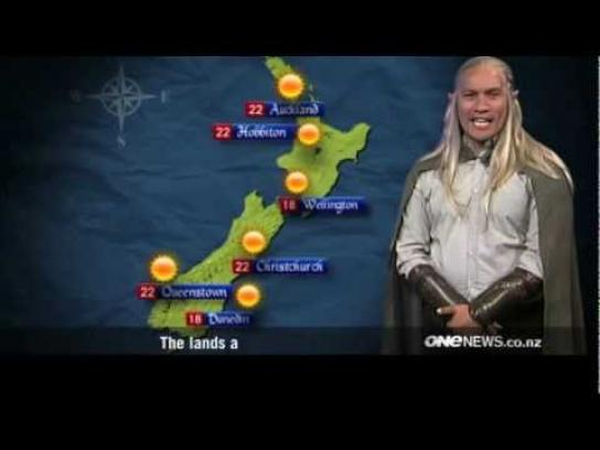 New Zealand Tourism Film Ad -  Elvish Weather