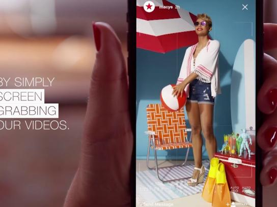 Macy's Digital Ad - The Remarkable Shot