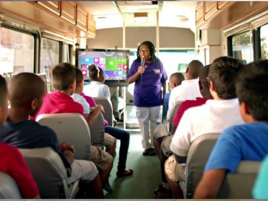 Microsoft Film Ad -  Estella's Brilliant Bus