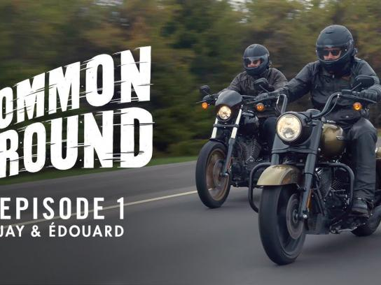 Harley-Davidson Content Ad - Jay & Édouard