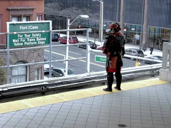 Detroit Institute of Arts Film Ad -  Samurai - Beyond the Sword, 3