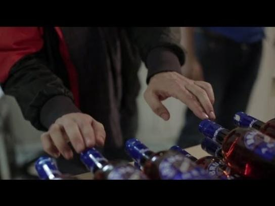 Brugal Digital Ad -  The Bottle Music Machine Project, First sounds