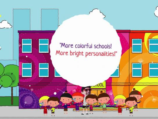 Tikkurila Outdoor Ad -  Bright childhood