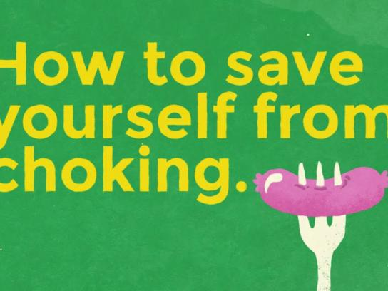 Mount Pleasant Group Digital Ad - How to save yourself from choking