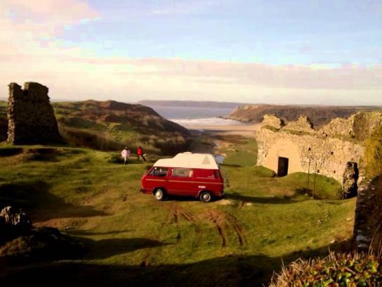 Vodafone Film Ad -  Vodafone  Camping trip (Prestons)