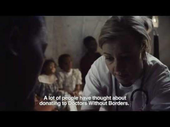 Doctors Without Borders Film Ad -  AnnSophie