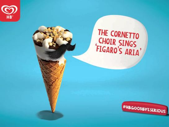 Cornetto Audio Ad -  Goodbye Serious - Figaro's Aria
