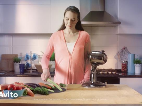 Avito Film Ad - Kitchen Machine