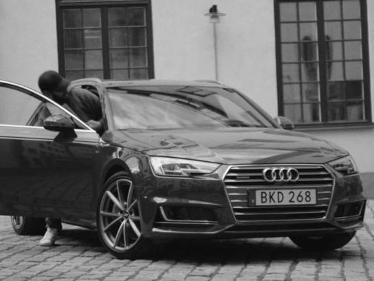 Audi Ambient Ad - The 3D audio song