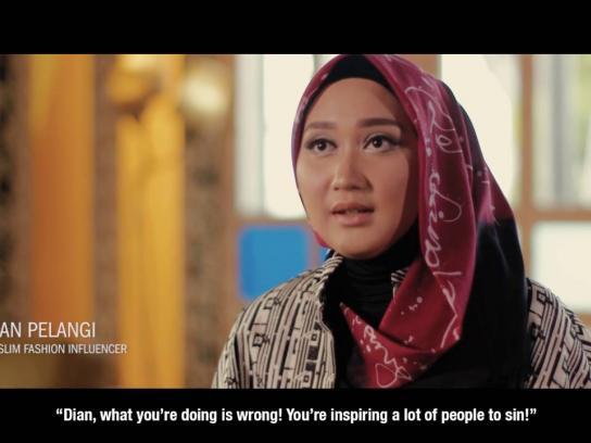 Hijup.com Digital Ad - #EmpowerChange