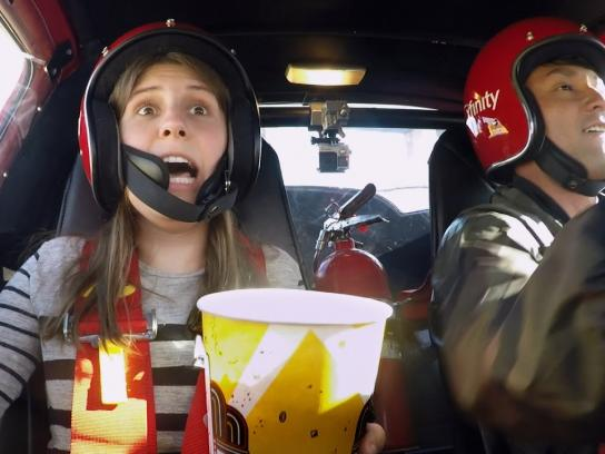 XFINITY Experiential Ad - Drive-Out Cinema