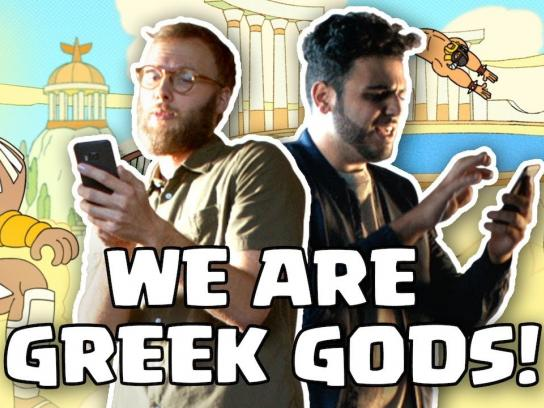Clash Royale Film Ad - We are GREEK GODS!