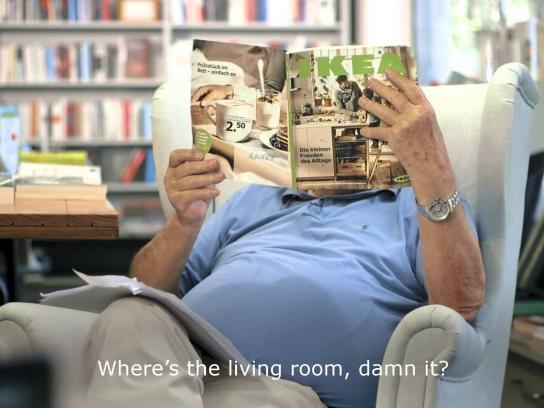 IKEA Digital Ad -  Catalogue Criticism