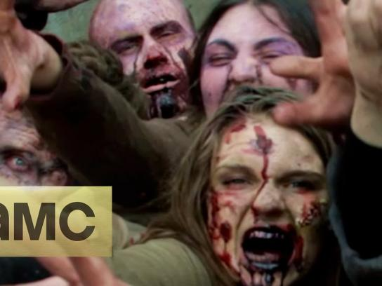 AMC Ambient Ad -  Zombies Prank NYC