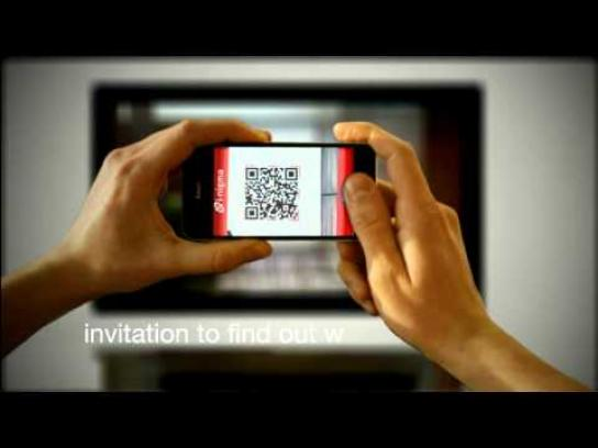 AXA Film Ad -  Combination of TV ad and iPhone app