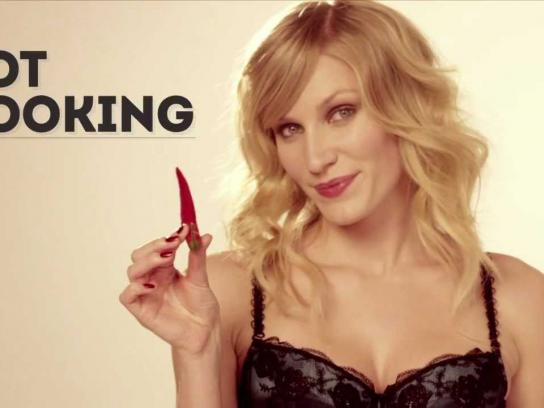MB-lingerie Film Ad -  Hot cooking