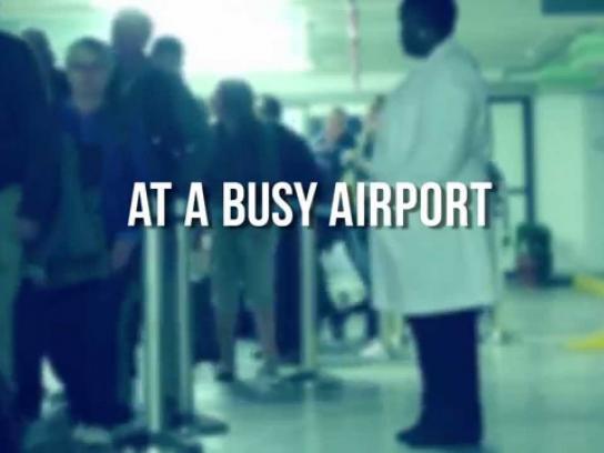 APA Insurance Ambient Ad -  Baggage drama