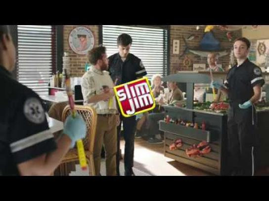 Slim Jim Film Ad - Heimlich