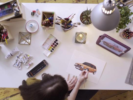 Volkswagen Digital Ad - 40 years in the making