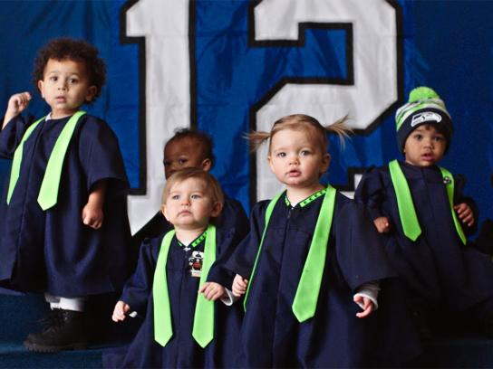 NFL Film Ad -  Super Bowl Babies Choir