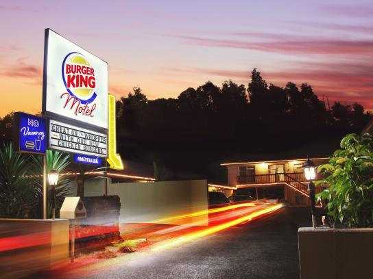 Burger King Ambient Ad -  Motel Case