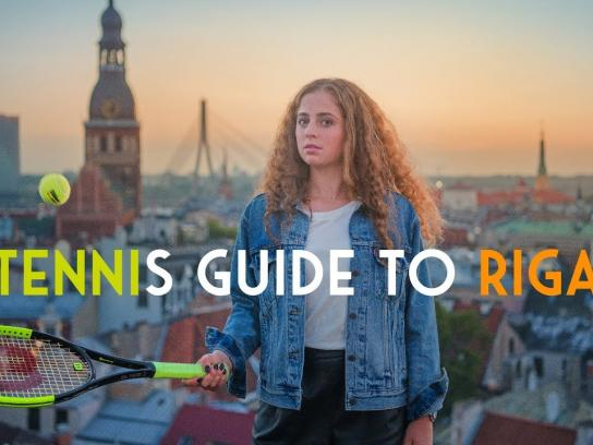 LiveRiga Film Ad - Tennis Guide to Riga