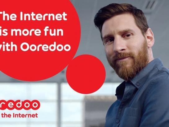Ooredoo Integrated Ad - Enjoy the Internet