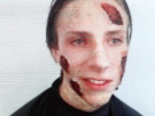 The Walking Dead Digital Ad -  Jens Zombie