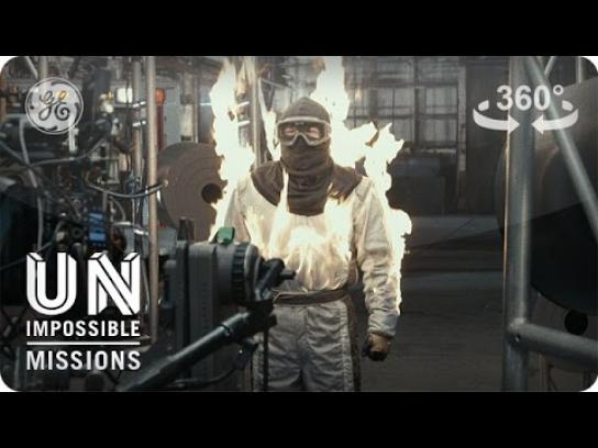General Electric Digital Ad - Fighting fire with fire
