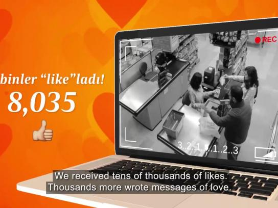 Migros Experiential Ad - Love Receipts
