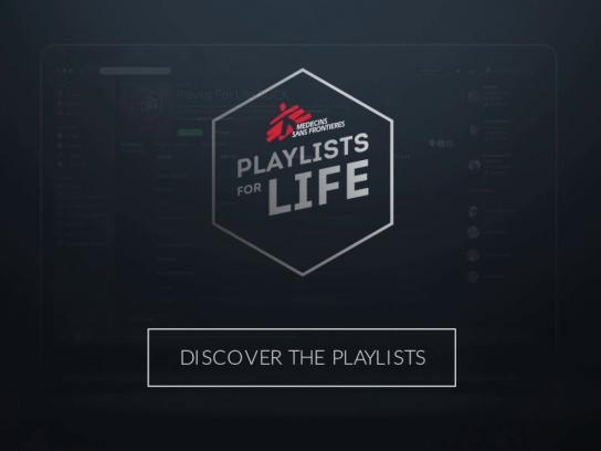 Doctors Without Borders Digital Ad -  Playlists for Life
