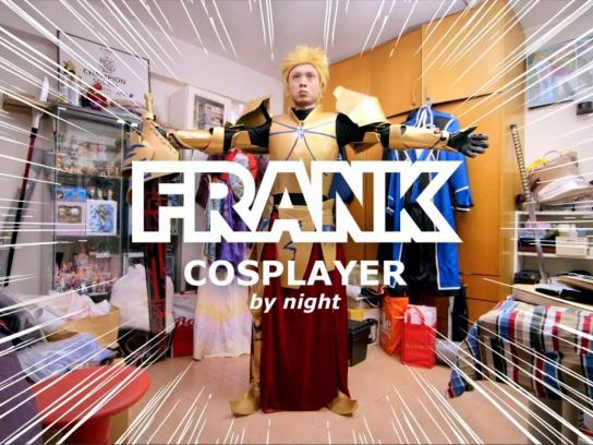 IKEA Digital Ad -  Bedroom Stories - Frank the Cosplayer