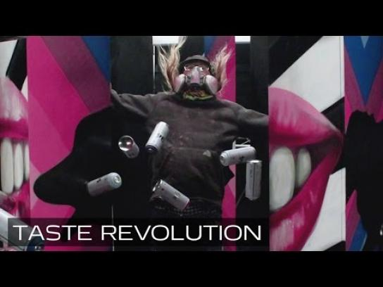Pepsi Digital Ad -  Taste revolution