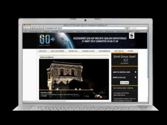 WWF Digital Ad -  Website Works in the Dark