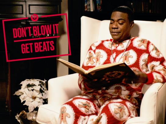 Beats by Dre Film Ad -  Tracy Morgan in 'A Christmas Miracle'