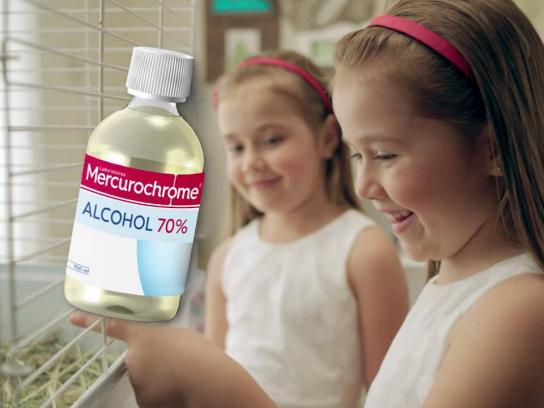 Mercurochrome Film Ad -  Whatever happens - Pet