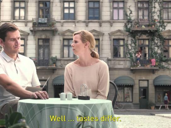 NBC Film Ad -  Pasta vs Naked man