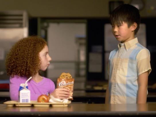 Grandma's Cookies Film Ad - Cafeteria