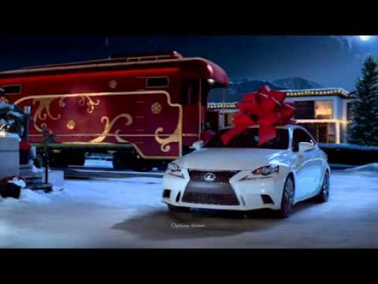 Lexus Film Ad -  No reindeer, just rails
