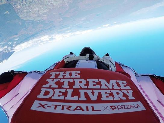 Nissan Digital Ad -  The Xtreme Delivery