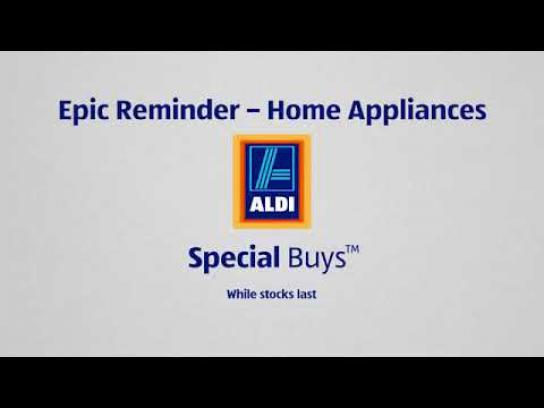 ALDI Audio Ad - Epic Reminders