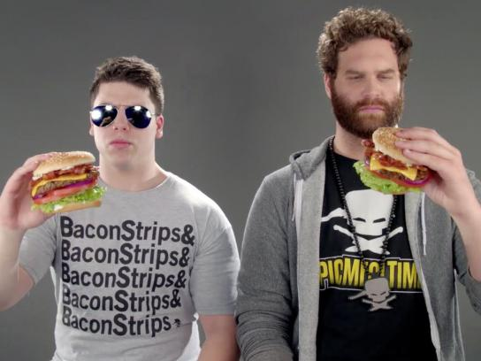 Carl's Jr. Film Ad -  Bacon to the 6th Power
