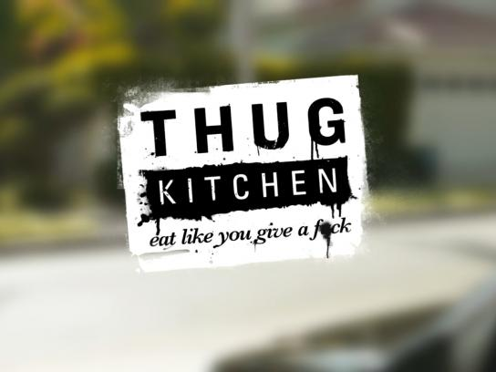 Thug Kitchen Digital Ad -  Eat Like You Give a F*ck