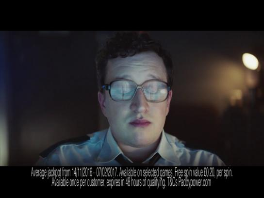 Paddy Power Film Ad - Surveillance guy