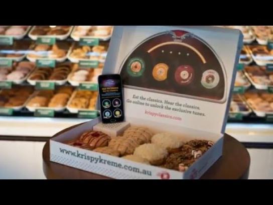 Krispy Kreme Direct Ad - American Classics